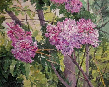 LILAC, 2005, oil on canvas, 40x50 cm